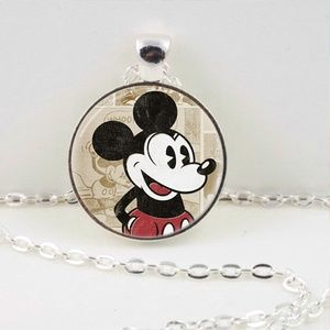 Vintage Mickey Mouse Pendant